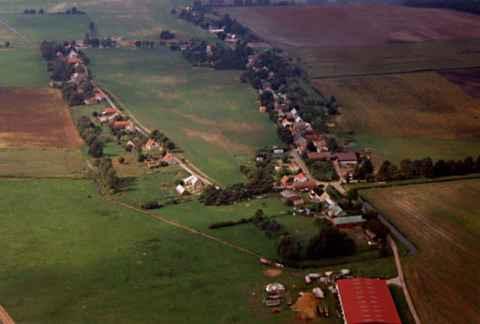 Bartschendorf aus der Luft